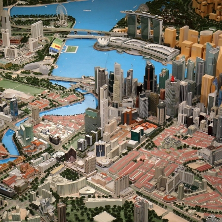 Discover the strategies and national initiatives undertaken to make Singapore a smart, green city, while enjoying an exclusive bird's eye view of one of the largest architectural models in the world.