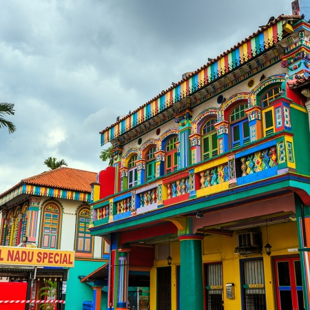 Take a city adventure walk through the ethnic neighborhoods of Chinatown, Little India and Kampong Glam.