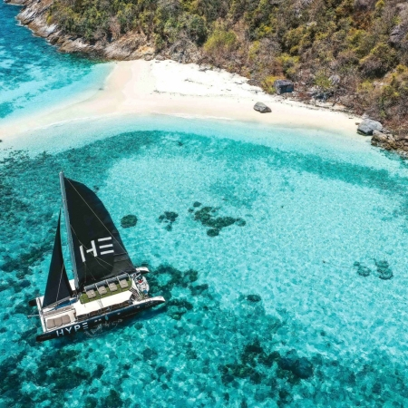 Head out to sea on a personal private beach club, sailing in style around a selection of the Andaman Sea's most stunning islands.