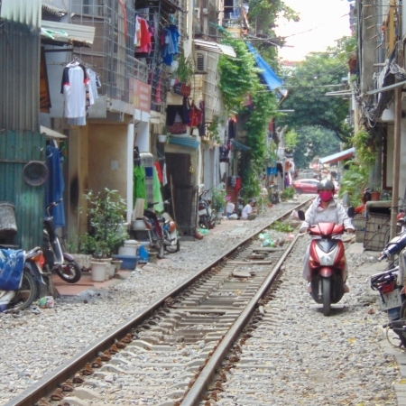 Journey through the narrow streets of Hanoi's old quarter on a vintage Vespa, discovering places that few tourists have ever seen.