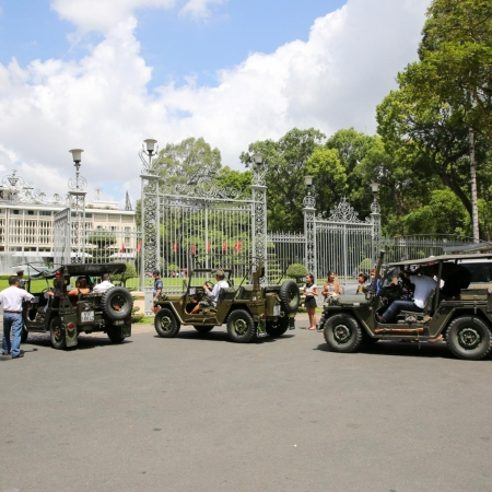 Cruise through the streets of Ho Chi Minh City in an open-top army jeep and get an introduction to the past and present of the historic city.