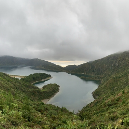 Visit the Azores, an archipelago of 9 islands where you can explore nature, taste São Jorge Cheese, try the 'Cozido' cooked in a volcano, and surf