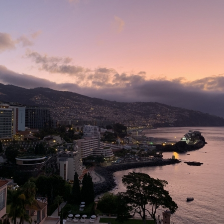 Visit Funchal and checkout the farmers market, the fortress, cathedral, and taste madeira wine at Madeira cellars