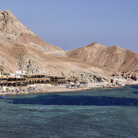 The Blue Hole of Dahab