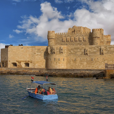 The Citadel of Qaitbay in Alexandria