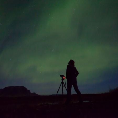 The aurora borealis takes its name from the roman goddess of dawn, aurora, and the Greek name for the north wind, Boreas. From September to April, Iceland is a hotspot for this magnificent lightshow. Let the Northern Lights remind you of the seemingly infinite beauty in Iceland.