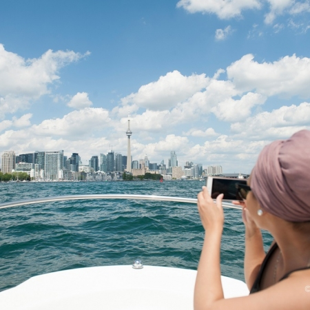 Enjoy an inner harbor or island cruise with impeccable views of the Toronto skyline