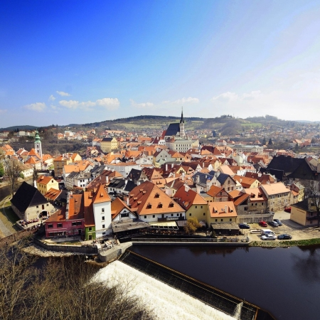Treasures from the UNESCO list outside Prague (Cesky Krumlov, Kutna Hora, Telc)