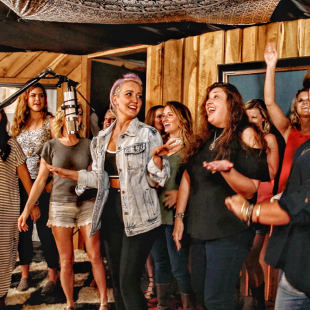 Go behind the scenes of a recording session with a #1 Billboard recording artist