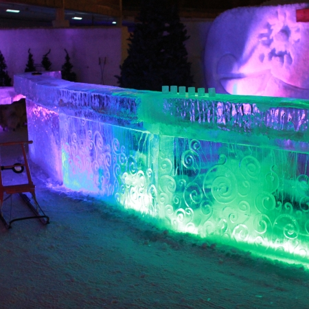 Visit the World Largest Ice Bar in Helsinki at the summer time