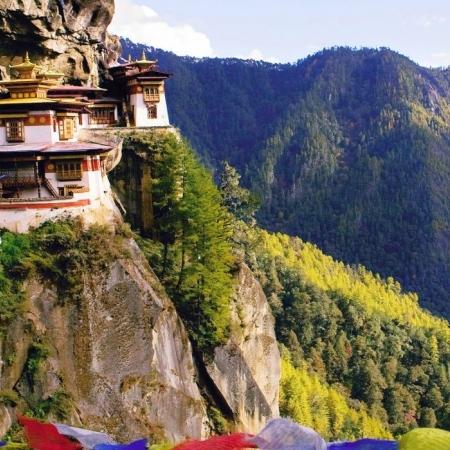 Hike to famed Taktsang Monastery of Tiger's Nest in Paro