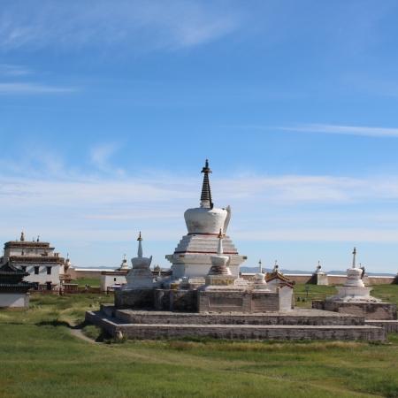 Golden stupa in Erdenezuu Monastery