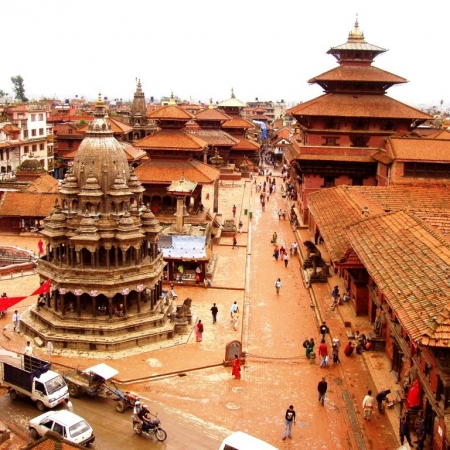 "Nepal has many World Heritage Sites. In Kathmandu valley alone there are 7 World Heritage Cultural sites within a radius of 15 kilometers. That's why it is also called ""Living Cultural Museum"". It is also called ""Shangrila"" or known as ""Roof of the World""."