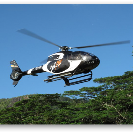 Scenic Flights: Seychelles is best appreciated by a thrilling helicopter ride