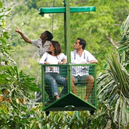 Aerial Tram in Gamboa & Monkey Island