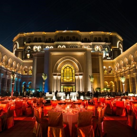 Host a gala dinner on the grounds of the iconic Emirates Palace.