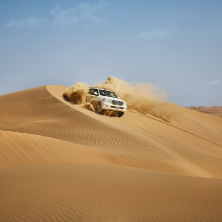 Explore the world's largest uninterrupted sand mass with the highest sand dunes on earth.