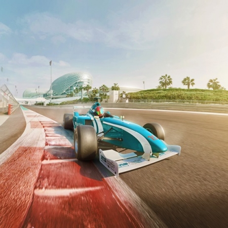 Get your adrenaline fix at Yas Marina Circuit, which challenges F1 competitors each year.