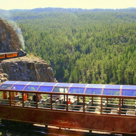 Breathtaking experience on the Durango Silverton Railroad.