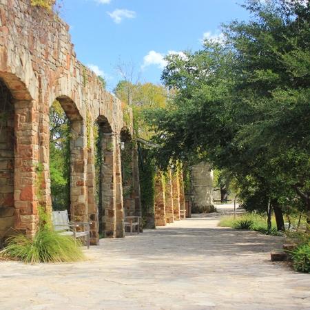 Public botanical garden named after Former First Lady Lady Bird Johnson.