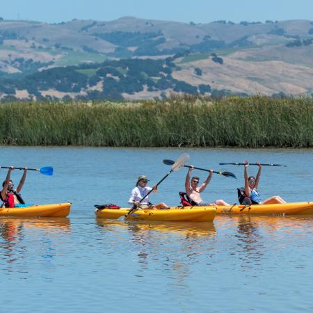 Kayaking and SUP on the Napa River