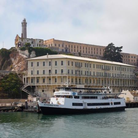 Alcatraz Island: tour the former US Federal Prison that is rich in history.