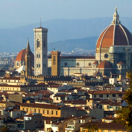 Florence: the Cathedral terraces