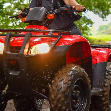 ATV, pure adrenaline