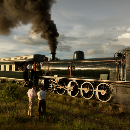 Travel in style on the Royal Livingstone Express Train