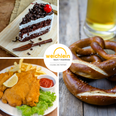 Try an authentic pretzel, Schnitzel or Black Forest Cake in the regions where they are produced!