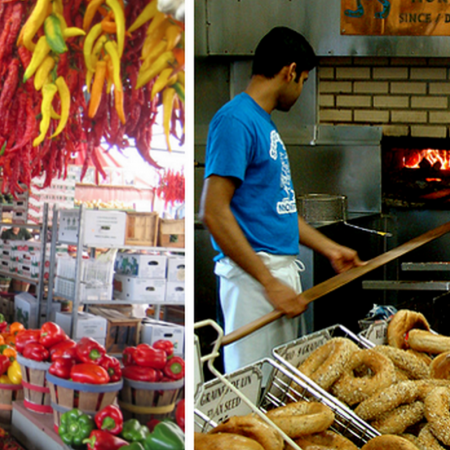 Culinary Montreal visit: This is the best way to experience the gastronomic diversity of Montreal:  Taste the exotic diversity of Montreal's and taste some of the local specialties, such as bagels.