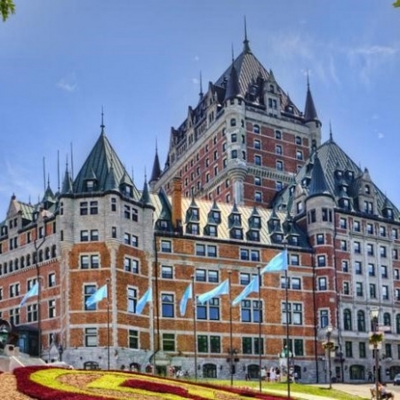 More than a hotel, the Fairmont Le Château Frontenac is a Québec City icon. For over a century, it has perched atop Cape Diamond overlooking the St. Lawrence River. This is the most photographed hotel in the world.